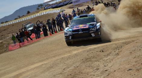 Volkswagen continúa dominando en el Rally México