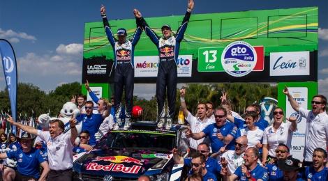 Jari-Matti Latvala y Volkswagen se llevan el Rally México