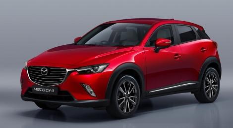 Mazda CX-3 2017: Más opciones a elegir