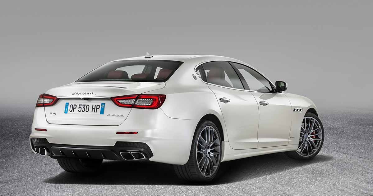 New Quattroporte GTS GranSport_rear