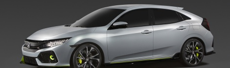 Honda Civic Hatch back: De Inglaterra para Estados Unidos