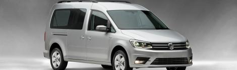 Volkswagen Caddy Pasajeros: para uso familiar o de negocio