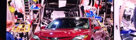 Toyota Camry 2018: El mejor ejemplo de producción global