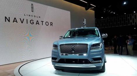 Lincoln Navigator 2018: Del concepto a la realidad, y es impresionante