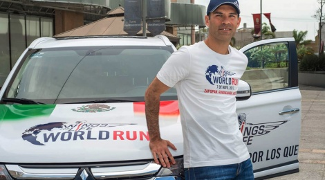 MITSUBISHI WINGS FOR LIFE WORLD RUN 2017