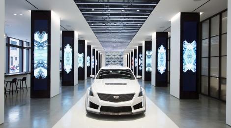 Cadillac House: Un espacio para la manifestación física del mundo cultural
