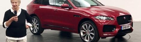 Jaguar F-Pace recibe el reconocimiento WWCOTY