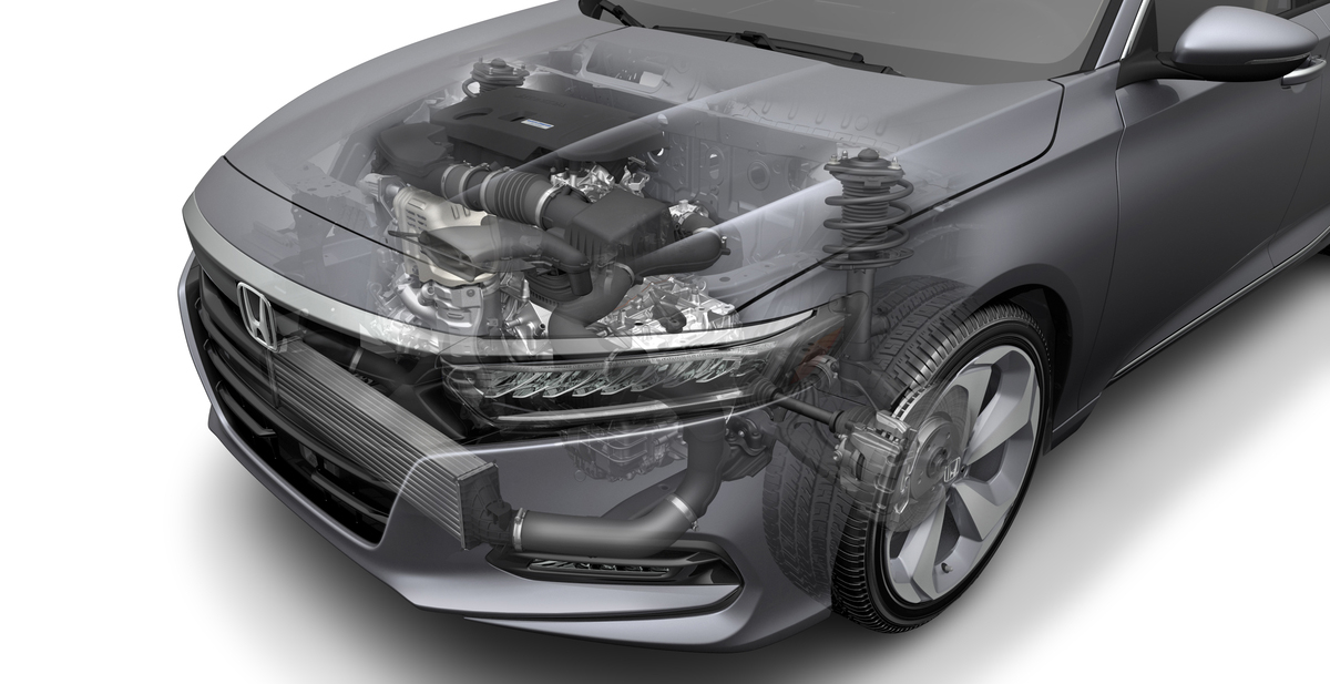 2018 Accord 2.0 Turbo with 10 AT