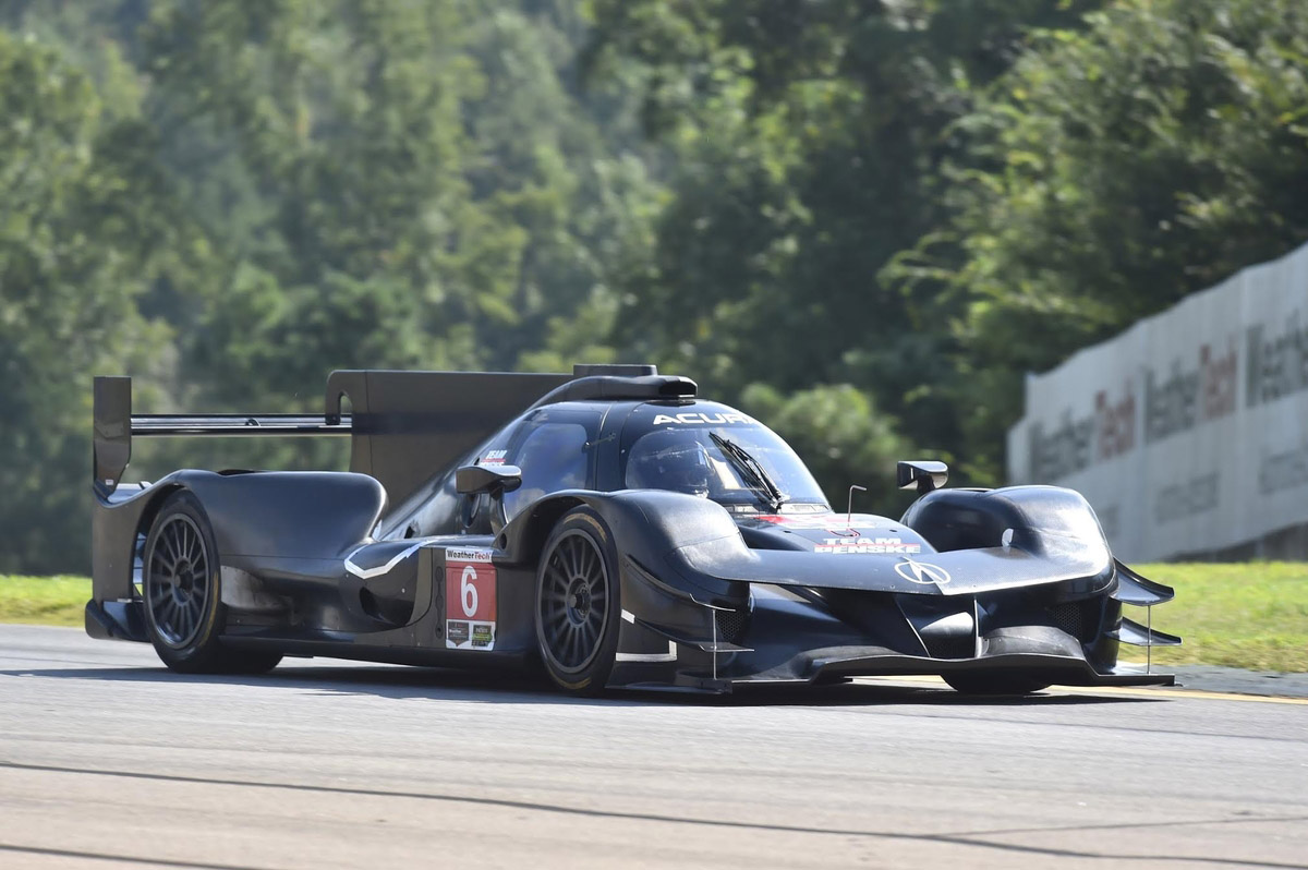 Acura ARX-05 Completes Successful First North American Test