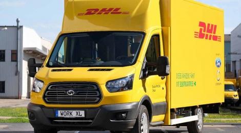 DHL y Ford: apuestan por la Van Electrica