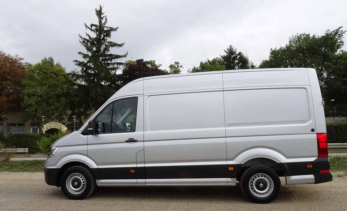 volkswagen crafter 2018 como la necesites. Black Bedroom Furniture Sets. Home Design Ideas