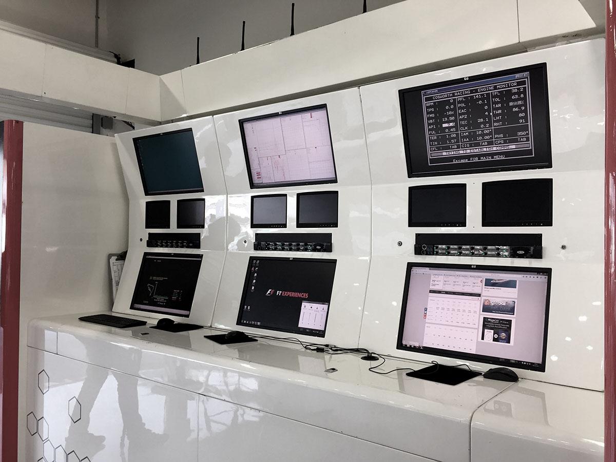 DHL equipo base de monitoreo de cada equipo
