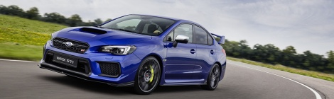 Subaru WRX STI 2018: Imperdible