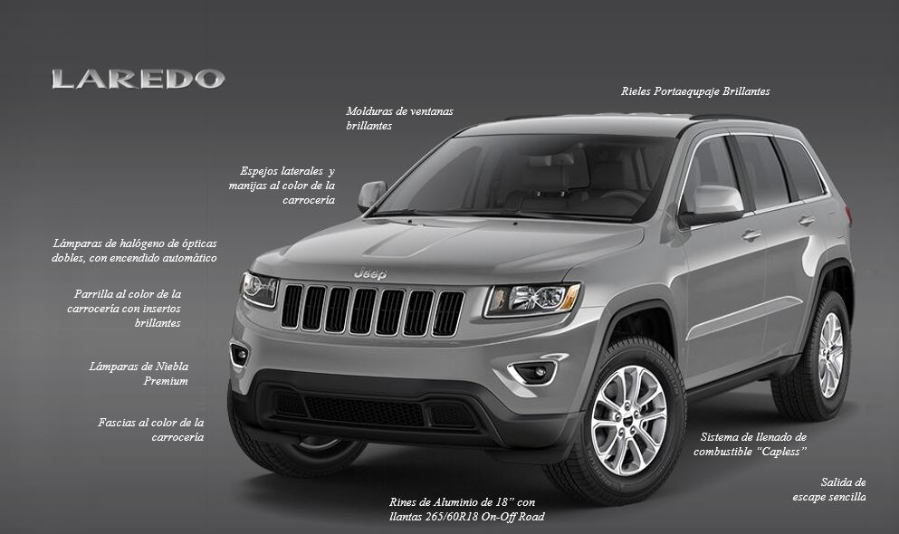 Jeep® Grand Cherokee Laredo 2018_4