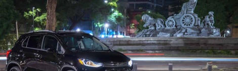 Chevrolet Trax Midnight: El imperio nocturno
