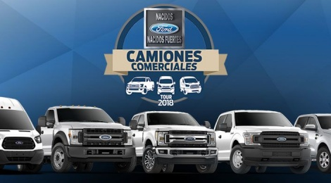 FORD: TOUR DE CAMIONES FORD 2018