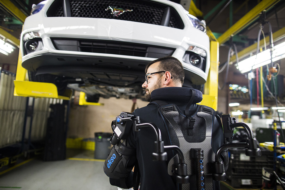Ford Exoskeleton 1