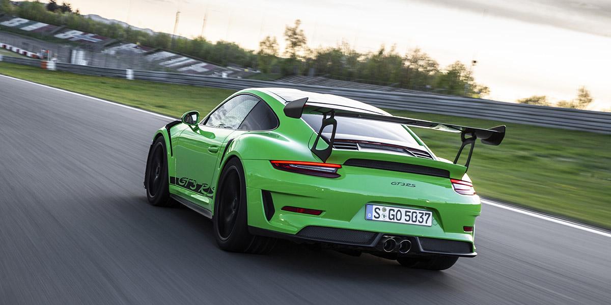 Porsche 02 glass