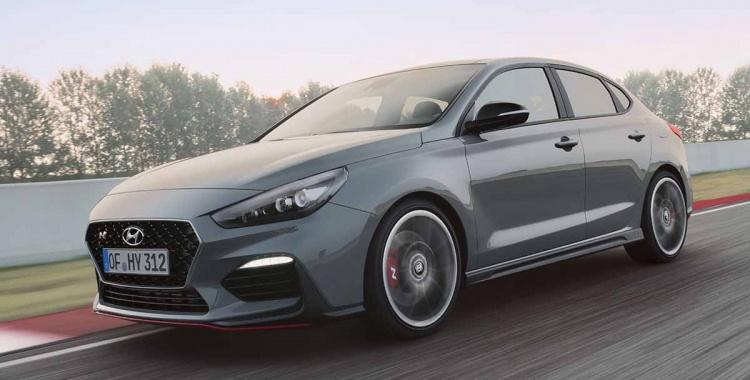 Hyundai i30 Fastback: Presentación a toda velocidad