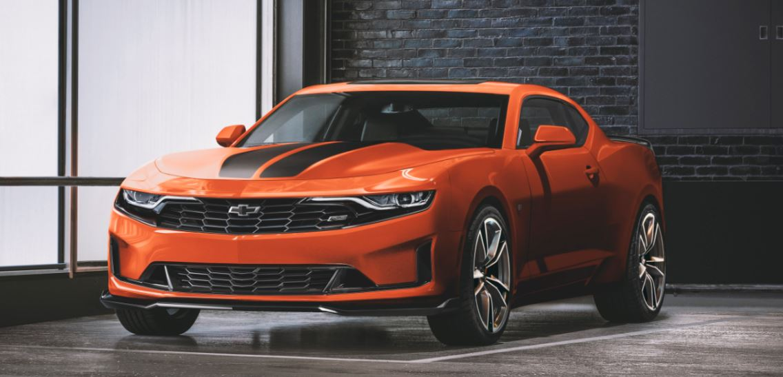 Chevrolet Camaro RS Fire Edition