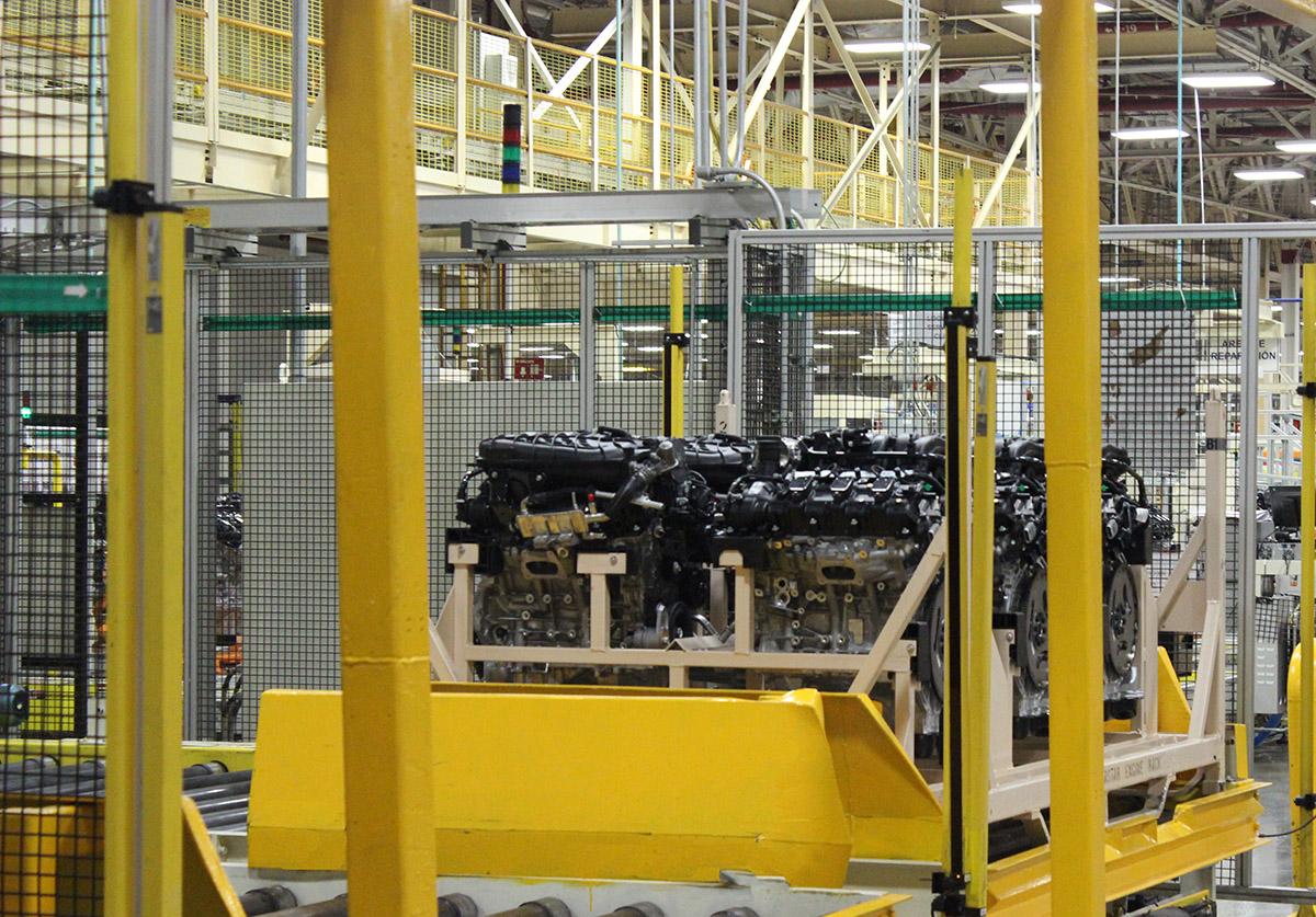Motor Pentastar Upgrade 3.6L RU