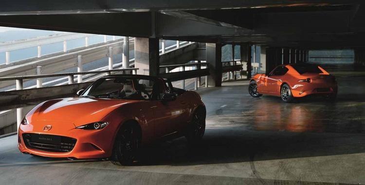 Mazda MX-5 Edición 30 Aniversario hoy en el Auto Show de Chicago