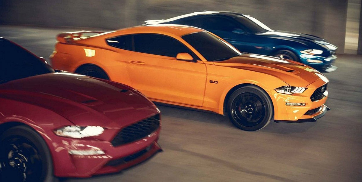 ford-mustang-2019-auto-deportivo-leyenda-muscle-exterior-luces-frente-naranja-led