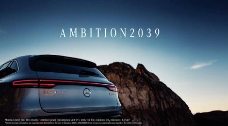 DAIMLER AG: AMBITION2039 un futuro limpio