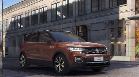Nuevo T-Cross el nuevo integrante de la familia Volkswagen disponible en México