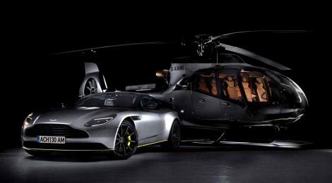 Airbus se une con Aston Martin para lanzar la ACH130 Aston Martin Edition