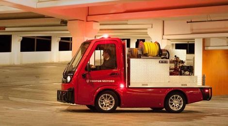 Panasonic y la start-up Tropos Motors proponen un nuevo concepto de camiones compactos utilitarios conectados a la nube