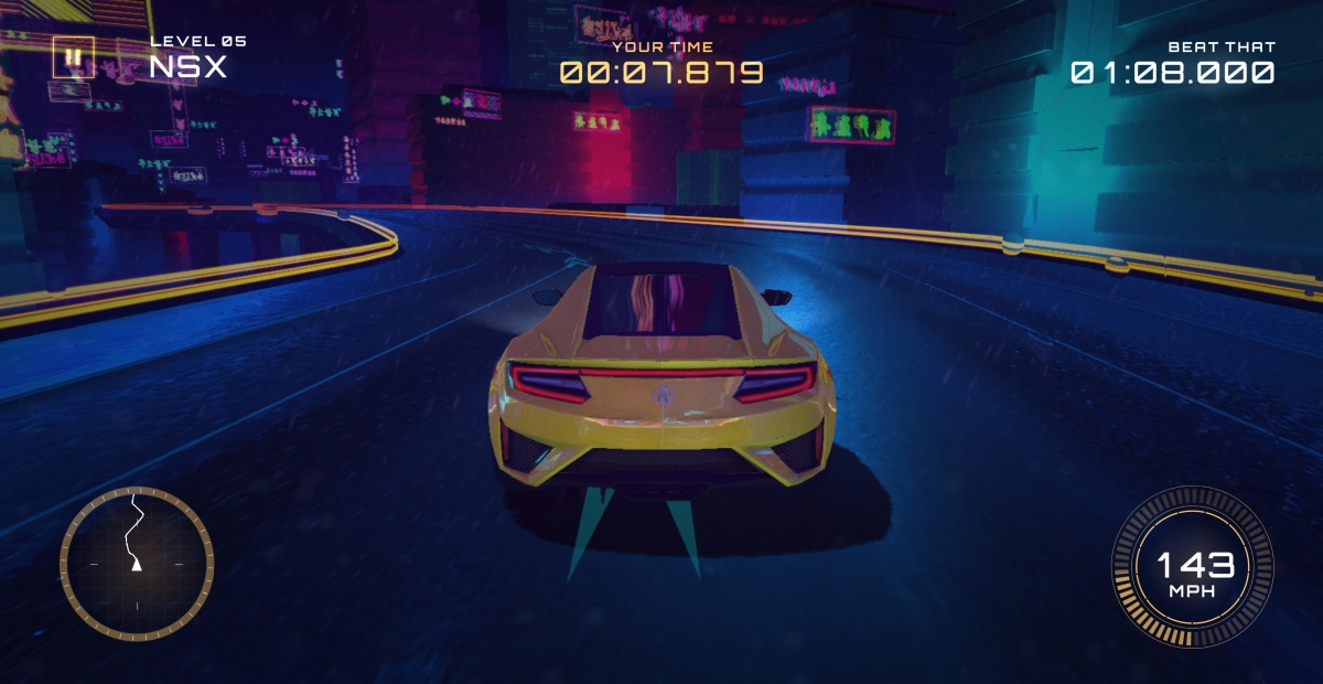 "Acura Transforms ""Beat That"" Commercial into Mobile Racing Game"