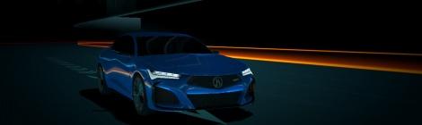 Acura presenta un juego de carreras con el NSX hasta su diseño más reciente el Type S Concept