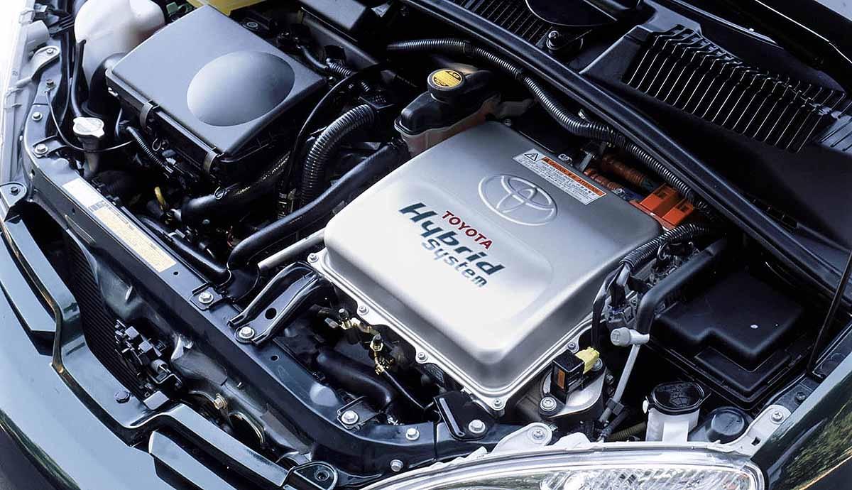 2002 Toyota Prius.