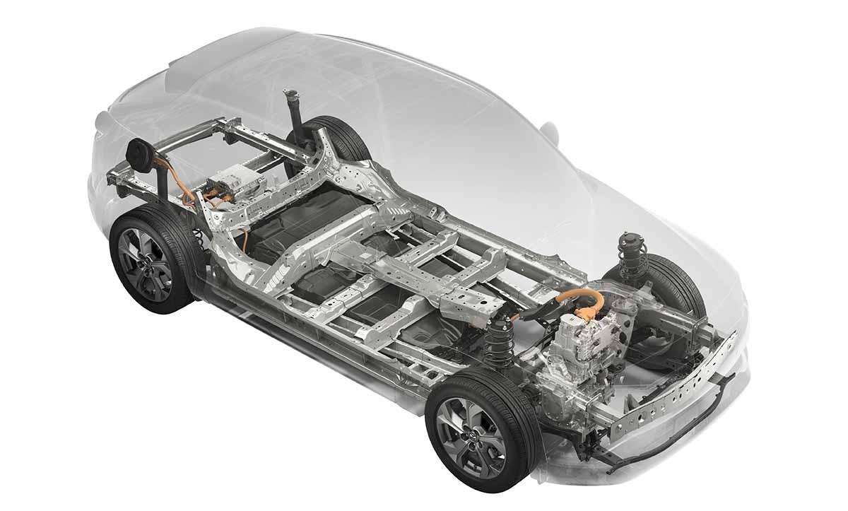 Mazda MX-30_Technical_Overall skelton