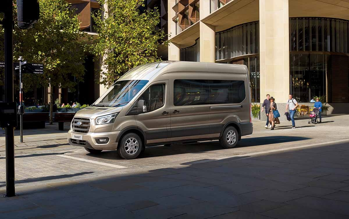 Ford Transit Now Available with Efficient and Durable New 10-Spe