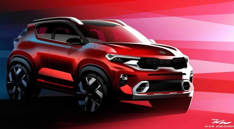 KIA Motors India lanza imágenes oficiales de la nueva SUV KIA Sonet