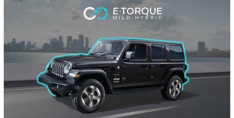 Jeep Wrangler eTorque Mild-Hybrid 2021