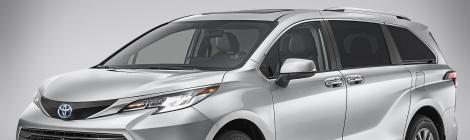Toyota Sienna Hybrid 2021:  ...y entonces cambió el segmento