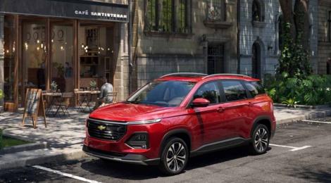 Chevrolet Captiva 2022 ahora con capacidad de 5 y 7 pasajeros