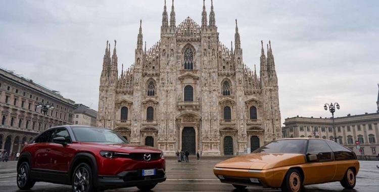 El primer modelo MX de Mazda restaurado para celebrar la historia de la influencia del diseño italiano en Mazda