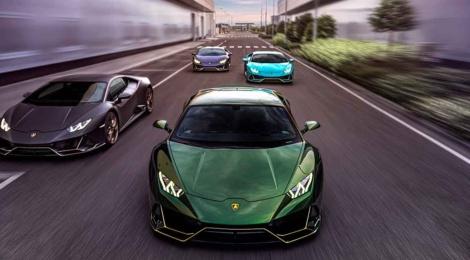 Lamborghini México presenta cuatro ediciones especiales del Huracán EVO para conmemorar sus 10 años en el país