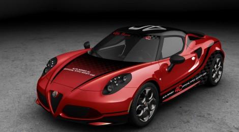 Alfa Romeo 4C será el auto de seguridad del FIA WTCC 2014