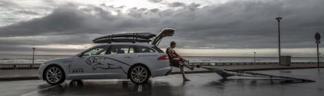 JAGUAR: El windsurfista Steven Van Broeckhoven protagoniza `SECRETS OF THE WIND´