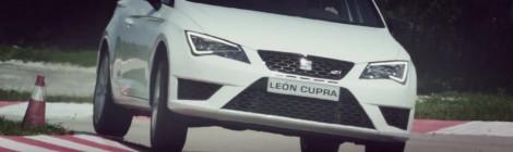 Al volante del Seat Leon Cupra