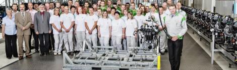 Skoda comienza en República Checa la producción de nuevos motores de tres cilindros
