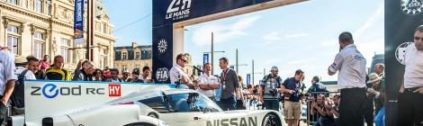 NISSAN: Preparada para Le Mans