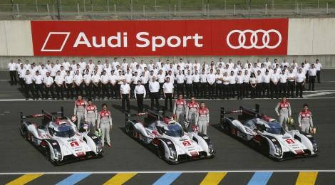 AUDI: Con más potencia y eficiencia de combustible para Le Mans
