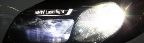 BMW: iluminación láser para las carreras