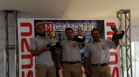 Se lleva a cabo la final del 5° Concurso Nacional de Técnicos de Isuzu México